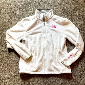 The North Face women's jacket breast cancer M